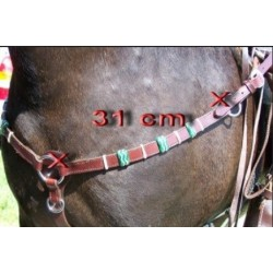 "Western show breastplate ""Mexican style"""