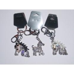Blingbling horse keychain