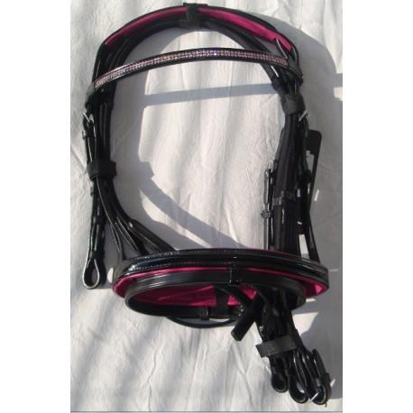 Wonderbaar DHH Shetlander Hoofdstel Pink Line Kopen of bestellen QU-47
