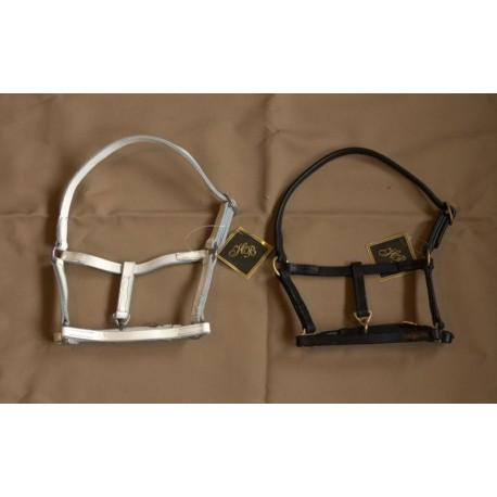 HB leather mini fohl halter