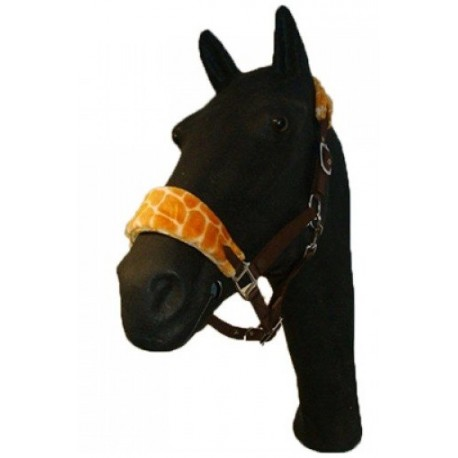 Fleece halter Giraffe