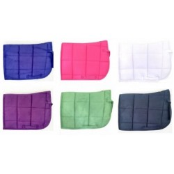 Suede Saddle pad