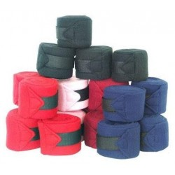 Fleece lined bandages