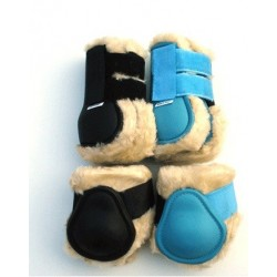 HB Tendon boots set with fake fur