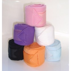 Mini fleece polo wraps