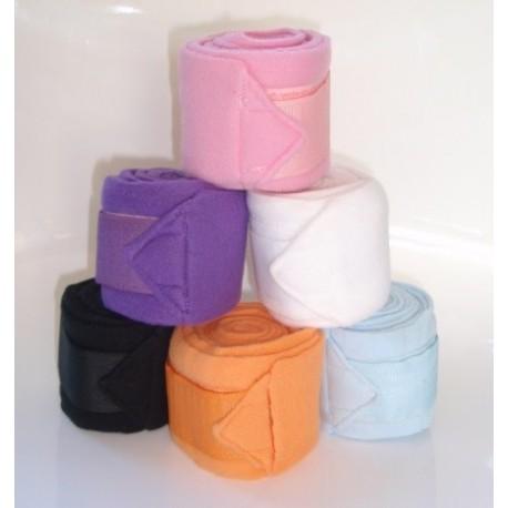 Mini fleece polo wraps