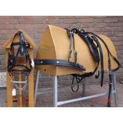 HB single driving harness with copper polish supplies